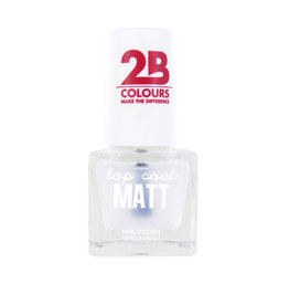 2B Cosmetics TOP COAT - 668 Matt