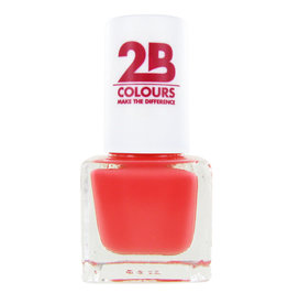 2B Cosmetics NAGELLAK MEGA COLOURS MINI - 83 Peach Parfait