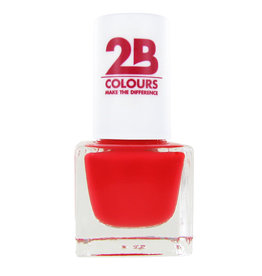 2B Cosmetics NAGELLAK MEGA COLOURS MINI - 84 Sunny Coral