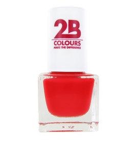 2B Cosmetics VERNIS à ONGLES MEGA COLOURS MINI - 84 Sunny Coral