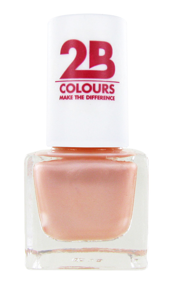 2B Cosmetics NAGELLAK MEGA COLOURS MINI - 82 Sweet Pearls