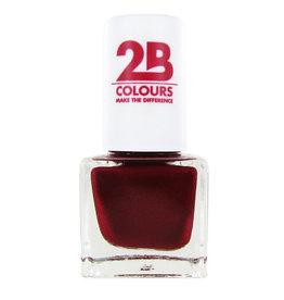 2B Cosmetics VERNIS à ONGLES MEGA COLOURS MINI - 87 Code Red