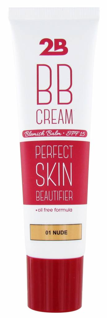 2B Cosmetics BB Cream - 01 Nude