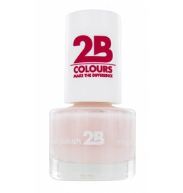 2B Cosmetics NAGELLAK MEGA COLOURS MINI - 3 Adorable Pink