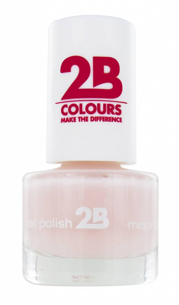 2B Cosmetics VERNIS à ONGLES MEGA COLOURS MINI - 3 Adorable Pink