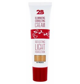 2B Cosmetics Illuminating Correcting Cream - 03 peach