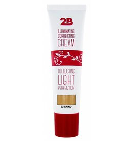 2B Cosmetics Illuminating Correcting Cream - 02 sand