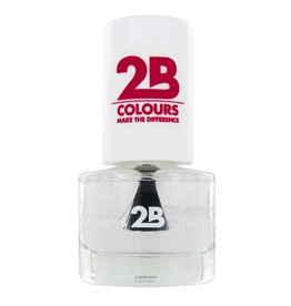 2B Cosmetics NAIL POLISH MEGA COLOURS MINI - 1 Water shine