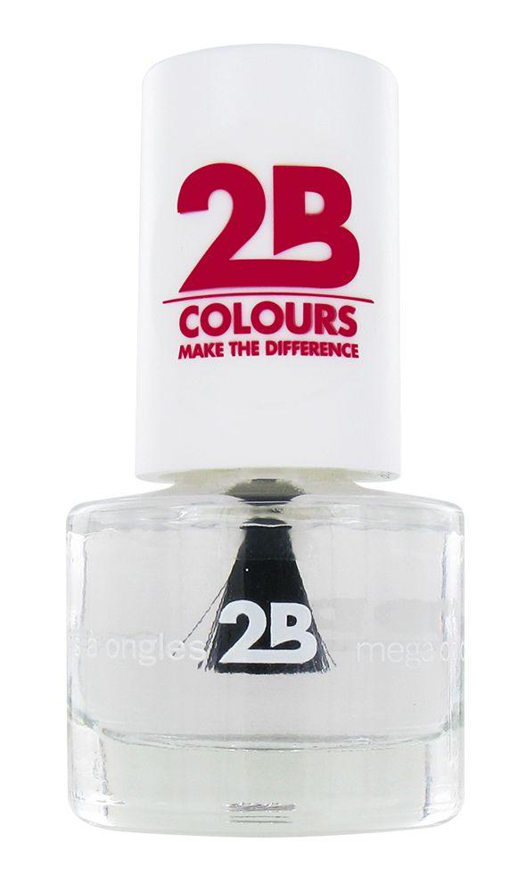 2B Cosmetics NAGELLAK MEGA COLOURS MINI - 1 Water shine