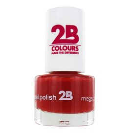 2B Cosmetics NAIL POLISH MEGA COLOURS MINI - 20 Deep Ruby Red