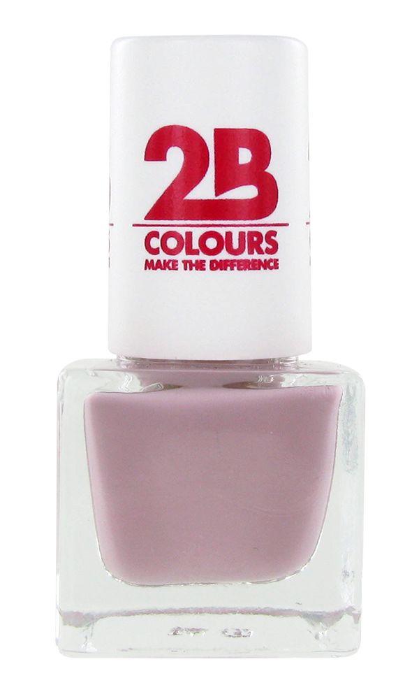 2B Cosmetics VERNIS à ONGLES MEGA COLOURS MINI - 60 Love Taupe