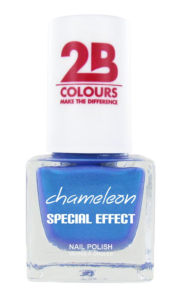 2B Cosmetics NAIL POLISH MEGA COLOURS MINI - 74 Chameleon Special Edition - Turquoise Surfing