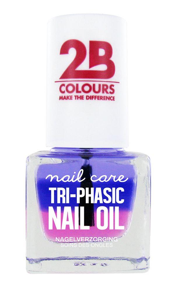 2B Cosmetics NAGELVERZORGING MEGA COLOURS MINI - 67 Tri-phasic nail oil