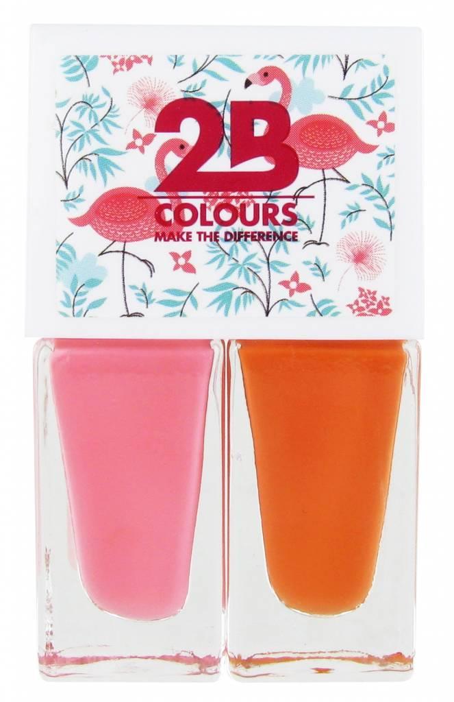2B Cosmetics Nail polish Duo - Summer 01