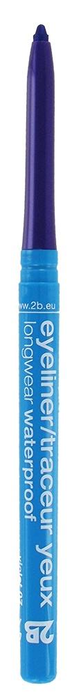 2B Cosmetics Eyeliner retractable waterproof - 07 violet