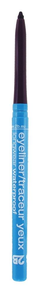 2B Cosmetics Eyeliner retractable waterproof - 08 Burgundy