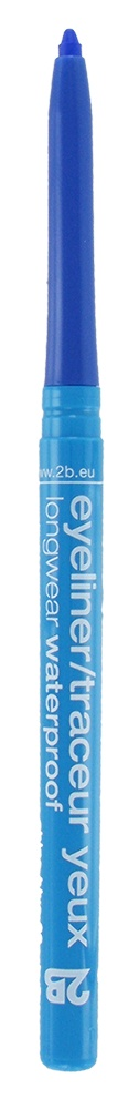 2B Cosmetics Eyeliner retractable waterproof- 06 china blue