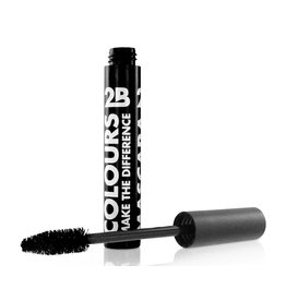 2B Cosmetics Mascara Colours - 01 Black