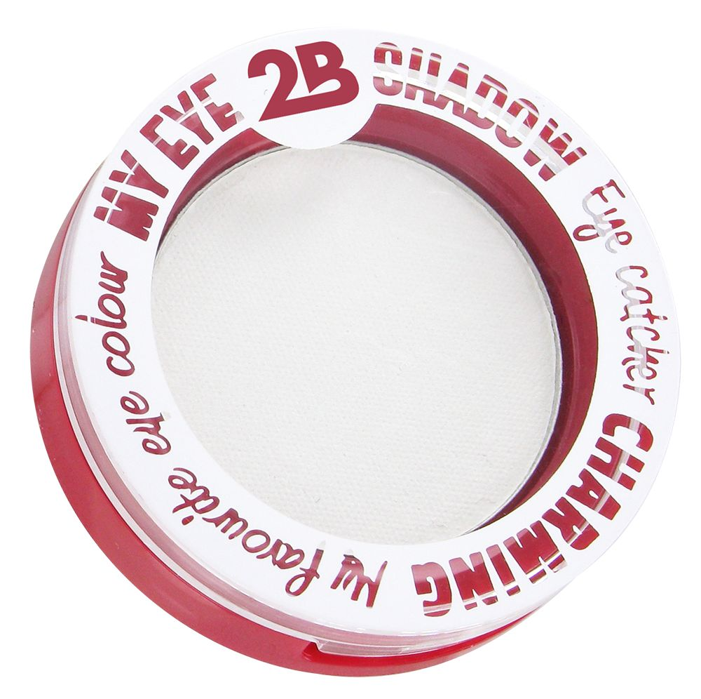 2B Cosmetics MY EYE SHADOW - WHITE