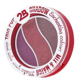 2B Cosmetics TRIO EYE SHADOW MIX & MATCH - TAUPE/PINK/BURGUNDY
