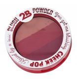 2B Cosmetics BLUSH TRIO 03 BURGUNDY