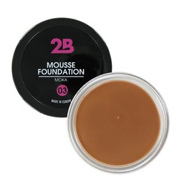 2B Cosmetics MOUSSE FOUNDATION 03 Moka