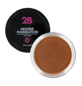 2B Cosmetics MOUSSE FOUNDATION 06 Amande