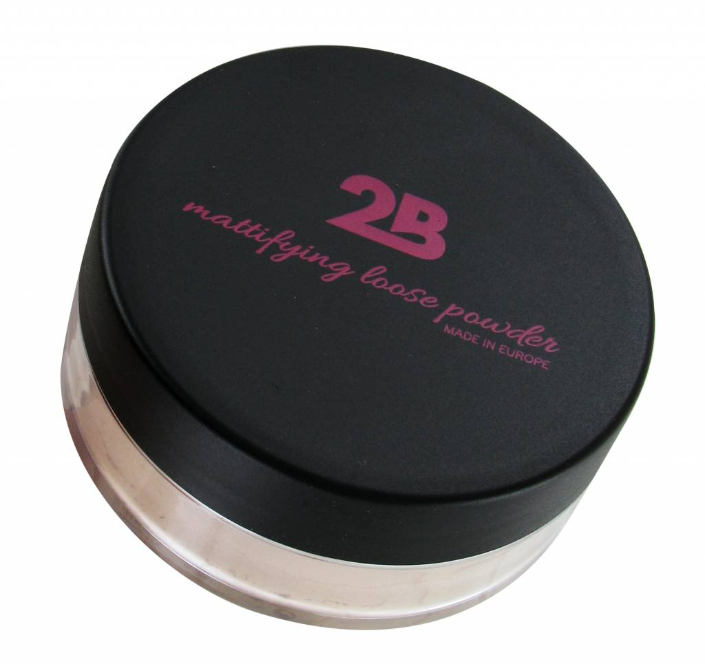 2B Cosmetics Loose Powder 01 Mat