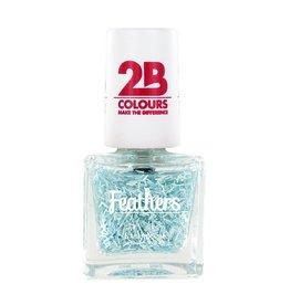 2B Cosmetics Nail polish Feathers 611 Blue