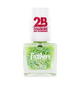 2B Cosmetics Nail polish Feathers 612 Green
