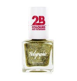 2B Cosmetics Nail polish Holographic 608 Gold