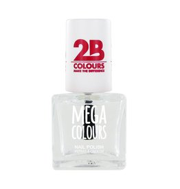 2B Cosmetics Nail polish Mega Colours 601 Transparant