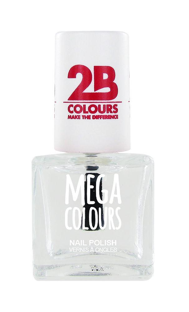 2B Cosmetics Nail polish Mega Colours 601 Transparant