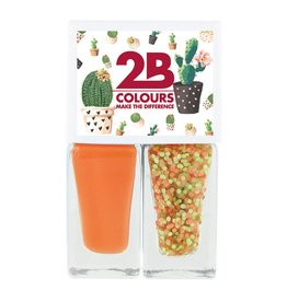 2B Cosmetics Vernis à Ongles Duo - Spring/Summer 02