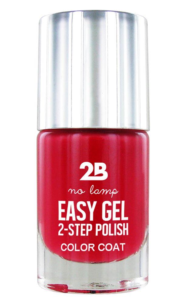 2B Cosmetics Easy gel 2 step polish - Berry Berry Fuchsia