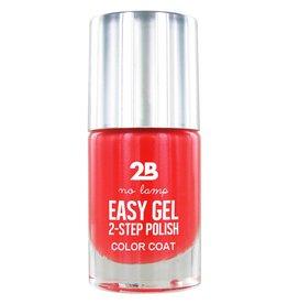 2B Cosmetics Easy gel 2 step polish - Crazy Papaya