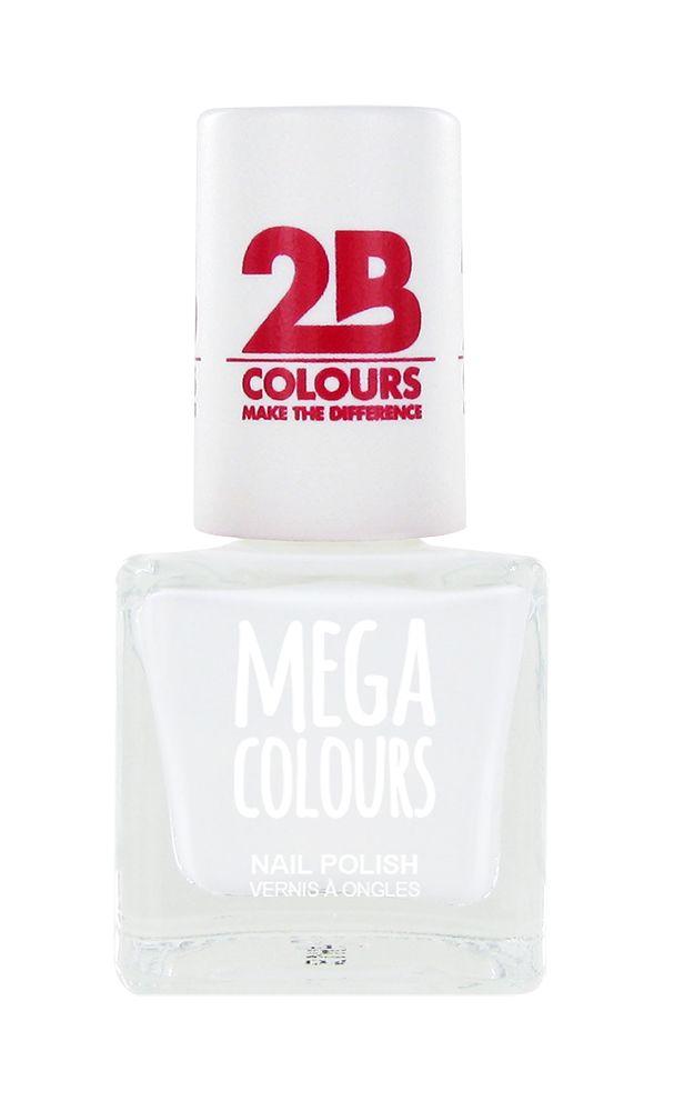 2B Cosmetics Nail polish 623 White