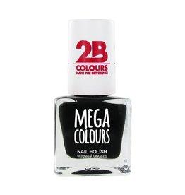 2B Cosmetics Nagellak 624 zwart
