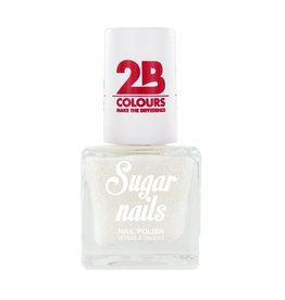 2B Cosmetics Nail polish Sugar 661 Snow White