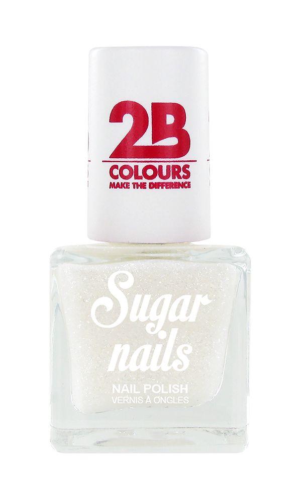 2B Cosmetics Nagellak Sugar 661 Snow White