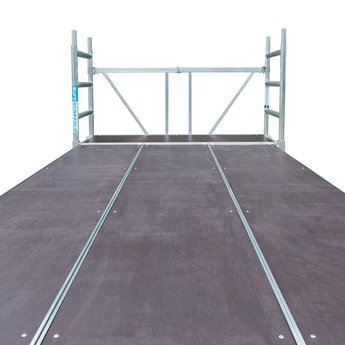 Euroscaffold Stucadoors werkplatform 190x340 cm