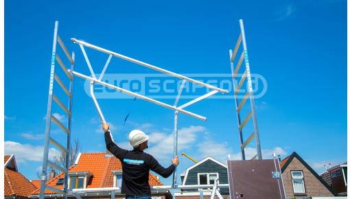 Rolsteigers met werkhoogte tot 14 meter