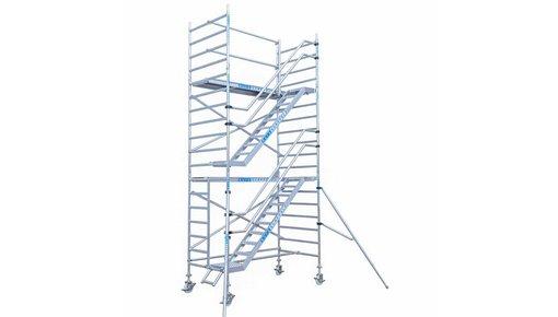 Trappentoren steiger met 14 meter werkhoogte