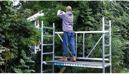Duurzame aluminium rolsteigers, trappen en ladders?