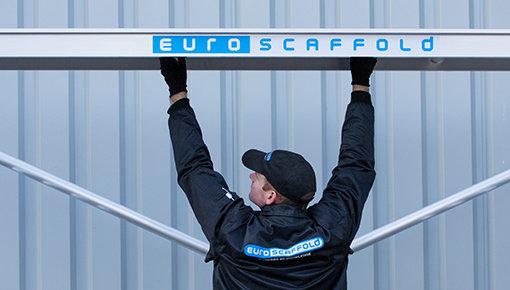 Standaard rolsteiger 90 cm met lichtgewicht platform