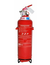 FireDiscounter Fire extinguisher powder (ABC) 1kg - BENOR V-label