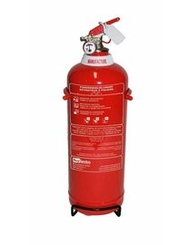 FireDiscounter Fire extinguisher powder (ABC) 2kg - BENOR V-label