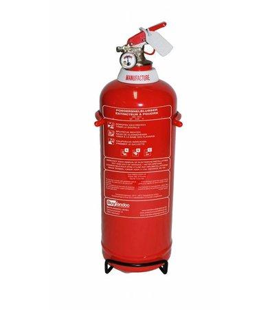 FireDiscounter Brandblusser poeder 2kg  (ABC) - BENOR V-label