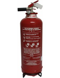 FireDiscounter Foam fire extinguisher-fat 2l (ABF) - BENOR