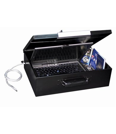 First Alert Coffre-fort ignifuge ordinateur portable  de 13,9 litres